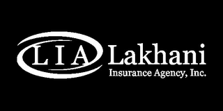 mark for LAKHANI INSURANCE AGENCY, INC. L I A, trademark #77510632