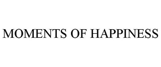 mark for MOMENTS OF HAPPINESS, trademark #77517291