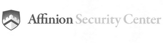 mark for AFFINION SECURITY CENTER, trademark #77520453
