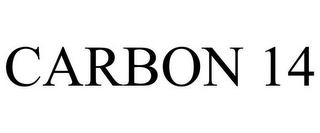 mark for CARBON 14, trademark #77521421