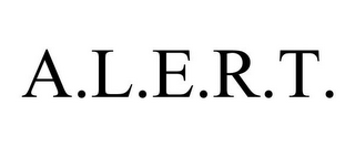 mark for A.L.E.R.T., trademark #77521928