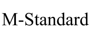 mark for M-STANDARD, trademark #77534439