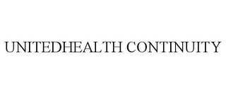 mark for UNITEDHEALTH CONTINUITY, trademark #77543942