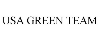 mark for USA GREEN TEAM, trademark #77545172