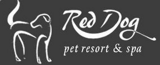 mark for RED DOG PET RESORT & SPA, trademark #77547476