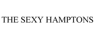 mark for THE SEXY HAMPTONS, trademark #77556858