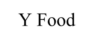 mark for Y FOOD, trademark #77557473