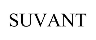 mark for SUVANT, trademark #77557725