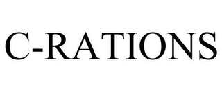 mark for C-RATIONS, trademark #77562951