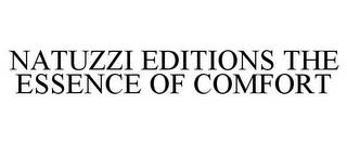 mark for NATUZZI EDITIONS THE ESSENCE OF COMFORT, trademark #77564626