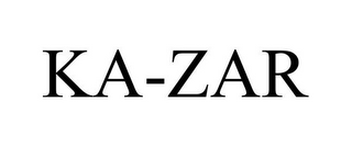 mark for KA-ZAR, trademark #77566694