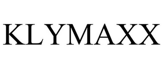 mark for KLYMAXX, trademark #77571759