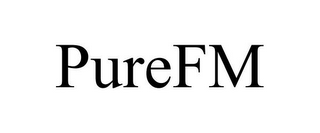 mark for PUREFM, trademark #77572622
