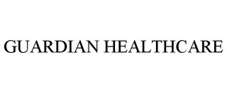 mark for GUARDIAN HEALTHCARE, trademark #77572703