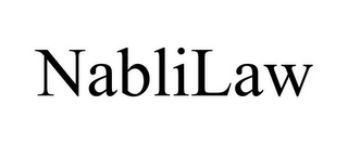 mark for NABLILAW, trademark #77574631