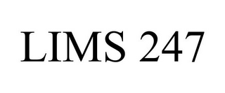 mark for LIMS 247, trademark #77584791