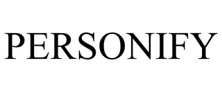 mark for PERSONIFY, trademark #77585427