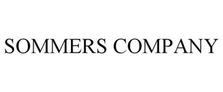 mark for SOMMERS COMPANY, trademark #77586661