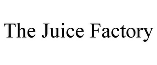 mark for THE JUICE FACTORY, trademark #77588793