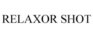 mark for RELAXOR SHOT, trademark #77590322
