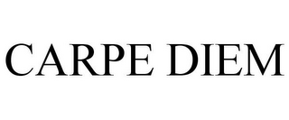 mark for CARPE DIEM, trademark #77592839