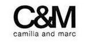 mark for C&M CAMILLA AND MARC, trademark #77594220