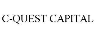 mark for C-QUEST CAPITAL, trademark #77596005