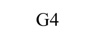 mark for G4, trademark #77604608