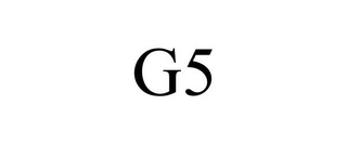 mark for G5, trademark #77604625