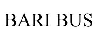 mark for BARI BUS, trademark #77609098