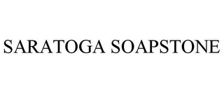 mark for SARATOGA SOAPSTONE, trademark #77609290