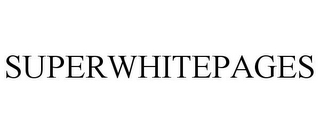 mark for SUPERWHITEPAGES, trademark #77611750