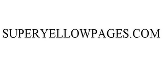 mark for SUPERYELLOWPAGES.COM, trademark #77611867