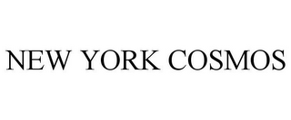 mark for NEW YORK COSMOS, trademark #77618607