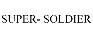 mark for SUPER- SOLDIER, trademark #77620501