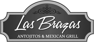 mark for LAS BRAZAS ANTOJITOS & MEXICAN GRILL, trademark #77621377