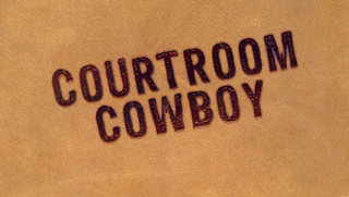 mark for COURTROOM COWBOY, trademark #77630063