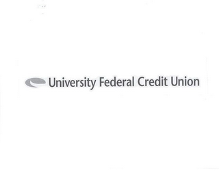 mark for UNIVERSITY FEDERAL CREDIT UNION, trademark #77630598
