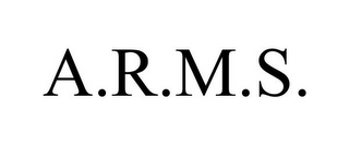mark for A.R.M.S., trademark #77633803
