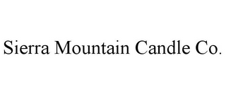 mark for SIERRA MOUNTAIN CANDLE CO., trademark #77636916