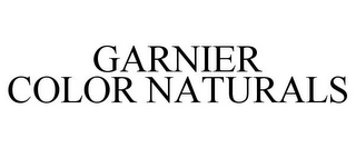 mark for GARNIER COLOR NATURALS, trademark #77637700