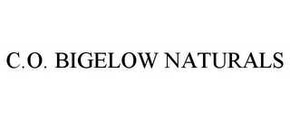 mark for C.O. BIGELOW NATURALS, trademark #77637918