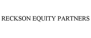 mark for RECKSON EQUITY PARTNERS, trademark #77638046