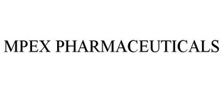 mark for MPEX PHARMACEUTICALS, trademark #77638841