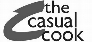 mark for THE CASUAL COOK, trademark #77640893
