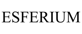 mark for ESFERIUM, trademark #77643448