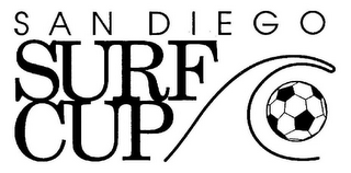 mark for SAN DIEGO SURF CUP, trademark #77648135
