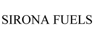 mark for SIRONA FUELS, trademark #77651348