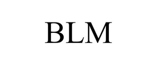 mark for BLM, trademark #77651660