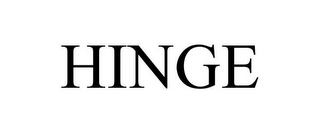 mark for HINGE, trademark #77654666